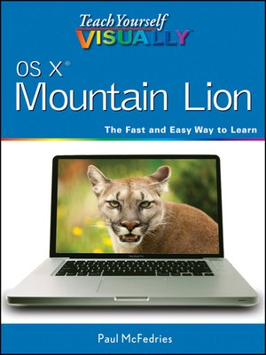 cover image of Teach Yourself VISUALLY OS X Mountain Lion