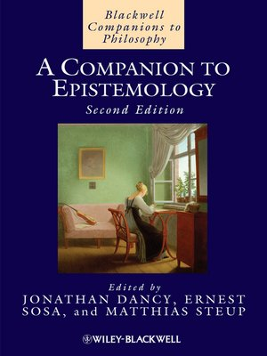 cover image of A Companion to Epistemology