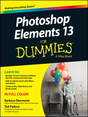 cover image of Photoshop Elements 13 For Dummies