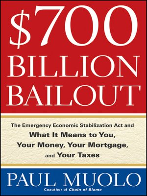 cover image of $700 Billion Bailout