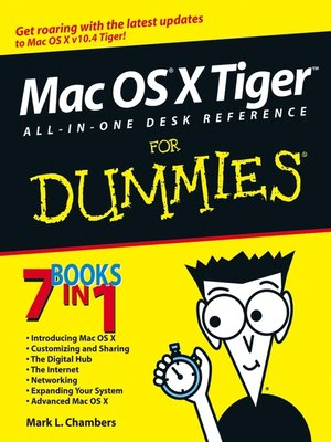 cover image of Mac OS X Tiger All-in-One Desk Reference For Dummies