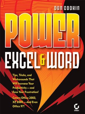 cover image of Power Excel and Word
