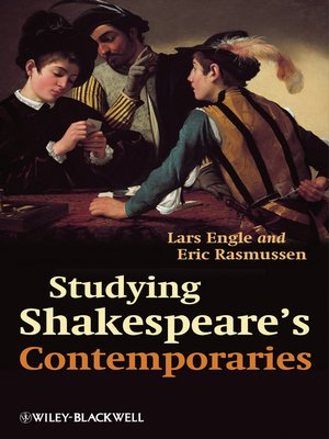 cover image of Studying Shakespeare's Contemporaries