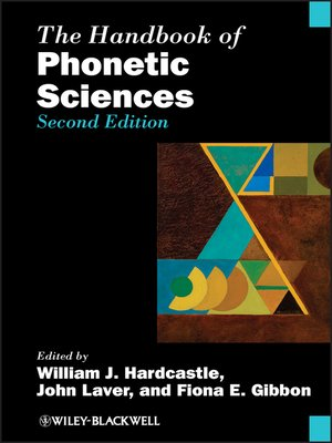 cover image of The Handbook of Phonetic Sciences