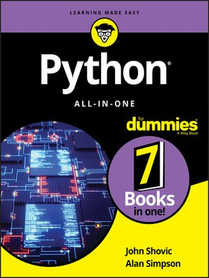 cover image of Python All-in-One For Dummies