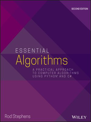 cover image of Essential Algorithms