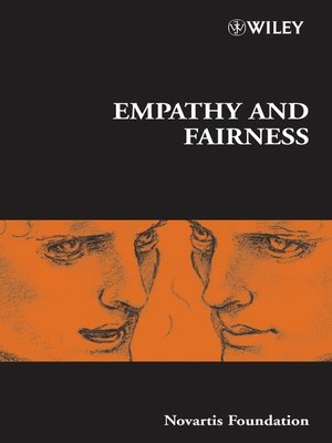 cover image of Empathy and Fairness