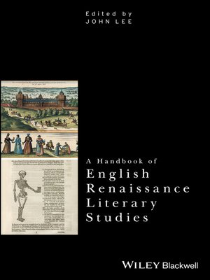 cover image of A Handbook of English Renaissance Literary Studies