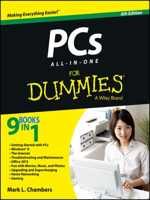 cover image of PCs All-in-One For Dummies