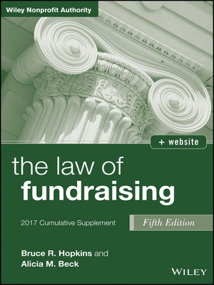 cover image of The Law of Fundraising, 2017 Cumulative Supplement