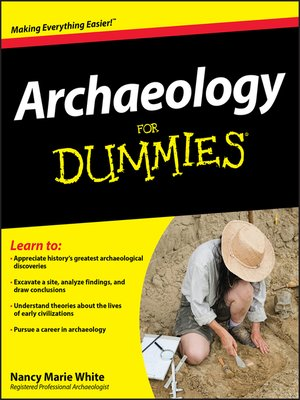 cover image of Archaeology For Dummies®