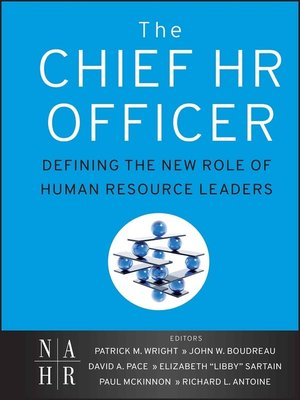 cover image of The Chief HR Officer