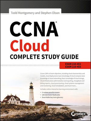 cover image of CCNA Cloud Complete Study Guide