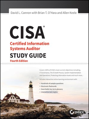 cover image of CISA Certified Information Systems Auditor Study Guide