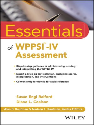 wppsi iv administration and scoring manual pdf