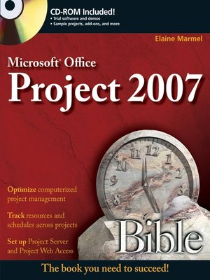 cover image of Microsoft Project 2007 Bible