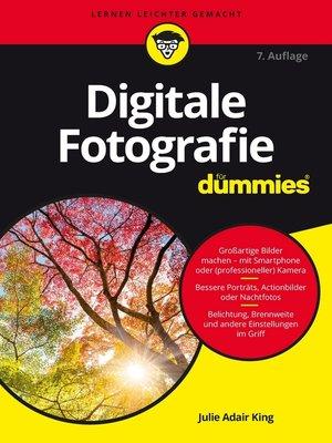 cover image of Digitale Fotografie für Dummies