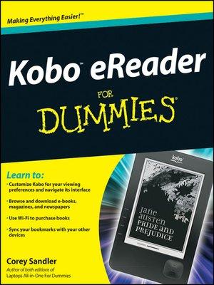 cover image of Kobo eReader For Dummies