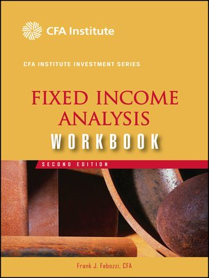 cover image of Fixed Income Analysis Workbook