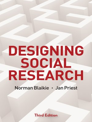cover image of Designing Social Research