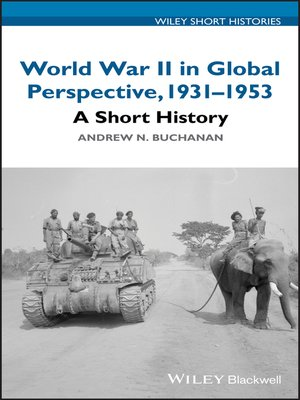 cover image of World War II in Global Perspective, 1931-1953