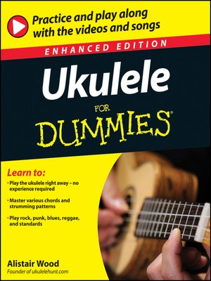 cover image of Ukulele For Dummies