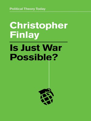 cover image of Is Just War Possible?