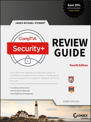 cover image of CompTIA Security+ Review Guide