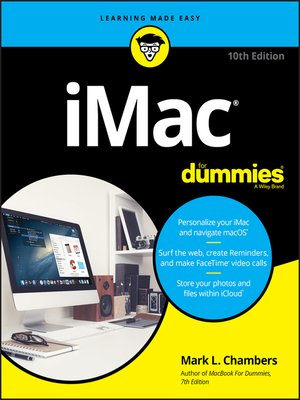 cover image of iMac For Dummies