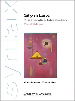 cover image of Syntax