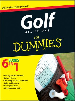 cover image of Golf All-in-One For Dummies