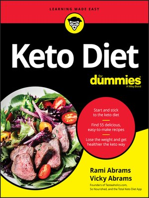 cover image of Keto Diet For Dummies
