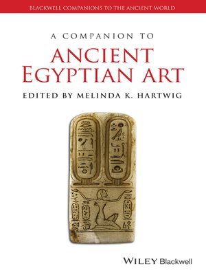 cover image of A Companion to Ancient Egyptian Art