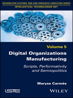 cover image of Digital Organizations Manufacturing