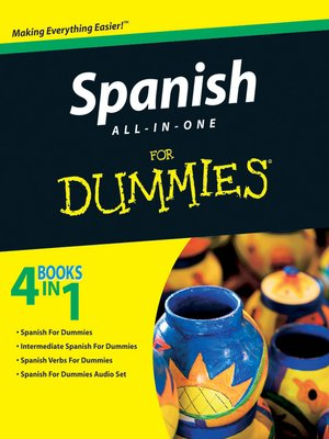 cover image of Spanish All-in-One For Dummies