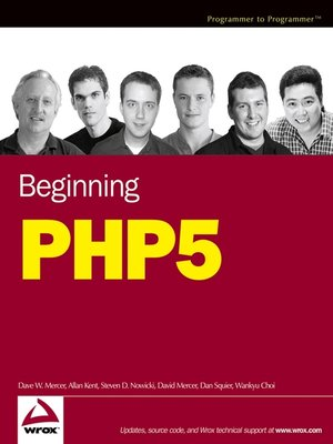 cover image of Beginning PHP5
