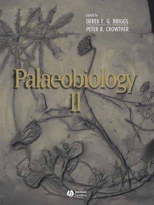 cover image of Palaeobiology II