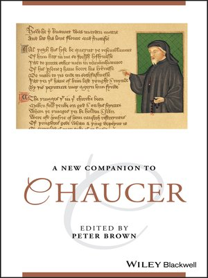 cover image of A New Companion to Chaucer