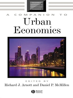 cover image of A Companion to Urban Economics