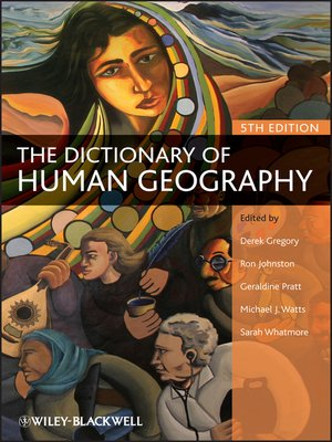 cover image of The Dictionary of Human Geography