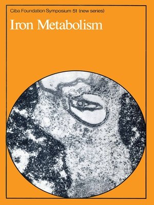 cover image of Iron Metabolism