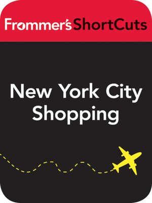 cover image of New York City Shopping