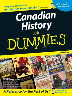 cover image of Canadian History for Dummies