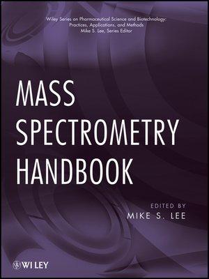 cover image of Mass Spectrometry Handbook