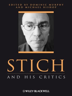 cover image of Stich and His Critics