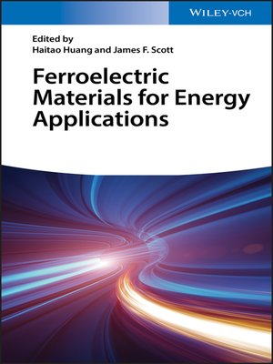 cover image of Ferroelectric Materials for Energy Applications