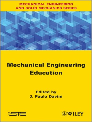 cover image of Mechanical Engineering Education