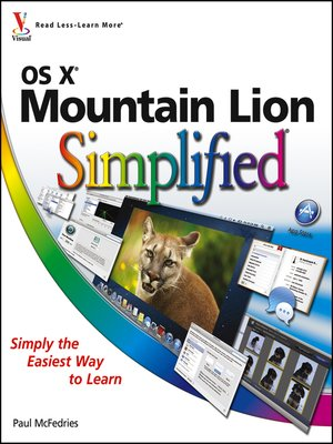 cover image of OS X Mountain Lion Simplified