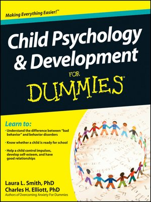 cover image of Child Psychology and Development For Dummies
