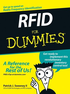 cover image of RFID For Dummies